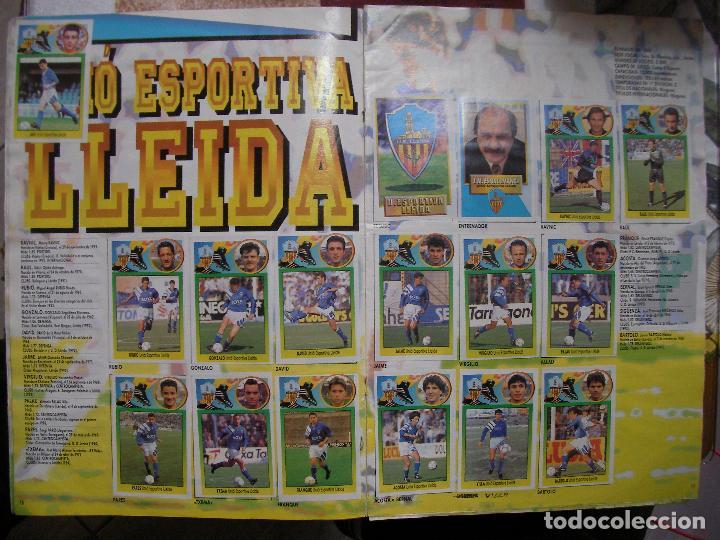 Coleccionismo deportivo: ANTIGUO LIBRO DE CROMOS LIGA 93-94 - Foto 8 - 121170235