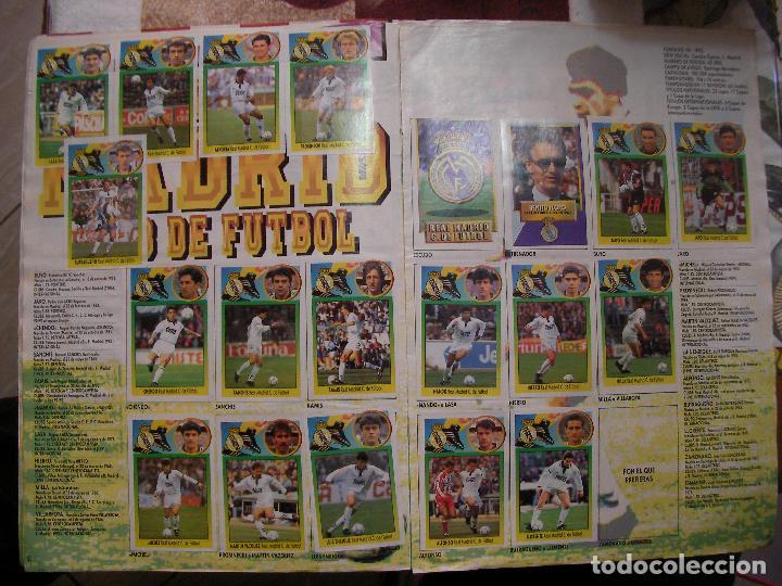 Coleccionismo deportivo: ANTIGUO LIBRO DE CROMOS LIGA 93-94 - Foto 10 - 121170235