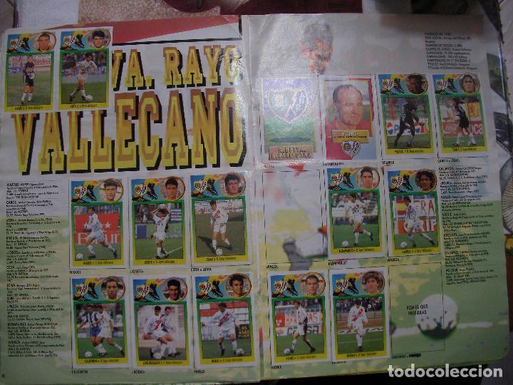 Coleccionismo deportivo: ANTIGUO LIBRO DE CROMOS LIGA 93-94 - Foto 13 - 121170235
