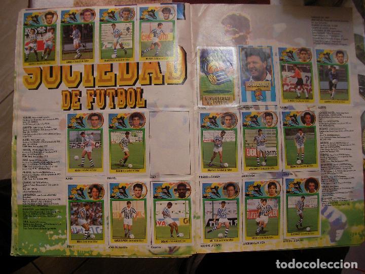 Coleccionismo deportivo: ANTIGUO LIBRO DE CROMOS LIGA 93-94 - Foto 16 - 121170235