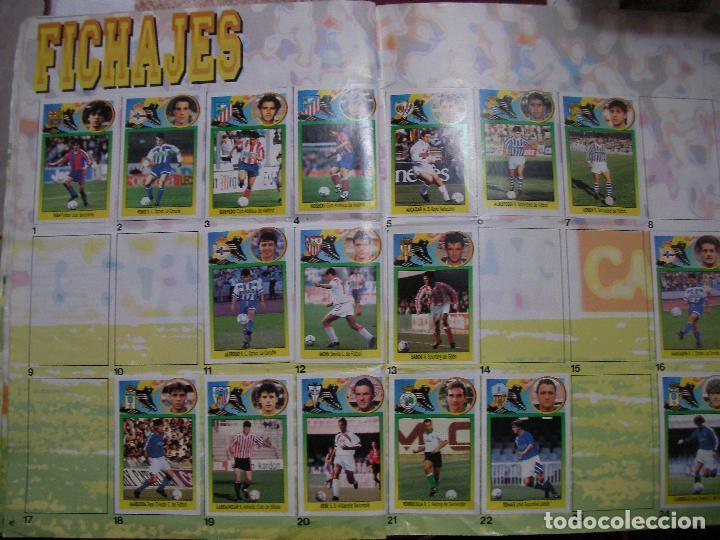Coleccionismo deportivo: ANTIGUO LIBRO DE CROMOS LIGA 93-94 - Foto 20 - 121170235