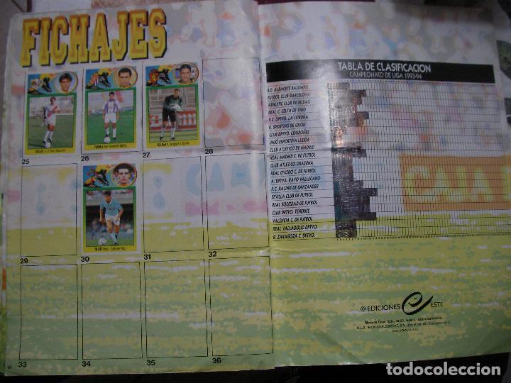 Coleccionismo deportivo: ANTIGUO LIBRO DE CROMOS LIGA 93-94 - Foto 22 - 121170235