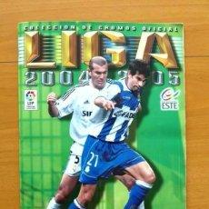 Coleccionismo deportivo: ÁLBUM LIGA 2004-2005, 04-05 - EDICIONES ESTE - VER FOTOS Y EXPLICACIÓN EN EL INTERIOR. Lote 121213059