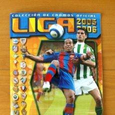 Coleccionismo deportivo: ÁLBUM LIGA 2005-2006, 05-06 - EDICIONES ESTE - VER FOTOS EN EL INTERIOR. Lote 121224283