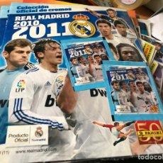 Coleccionismo deportivo: ÁLBUM REAL MADRID PRECINTADO 2010/2011 PANINI. Lote 121367044