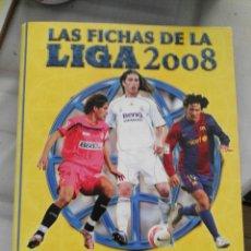 Coleccionismo deportivo: ALBUM DE ANILLAS VACIO NUEVO MUNDICROMO FICHAS LIGA 2008. Lote 180522630
