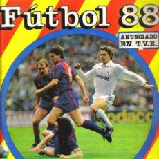 Coleccionismo deportivo: ALBUM DE CROMOS FUTBOL 88 DE PANINI - 349 CROMOS PEGADOS, FALTAN 37. Lote 121918995