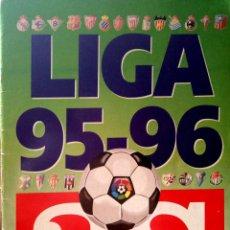 Coleccionismo deportivo: ALBUM AS - FUTBOL LIGA 95 96 1995 1996 - (CON 91 CROMOS PEGADOS) VER FOTOS. Lote 121978011
