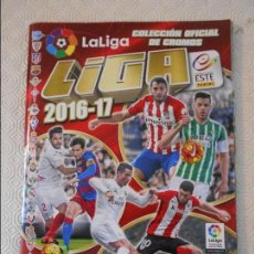 Coleccionismo deportivo: LIGA 2016-17. FUTBOL. CAMPEONATO NACIONAL DE LIGA 2016-17. COLECCIONES ESTE - PANINI. ALBUM DE CROMO. Lote 122072663