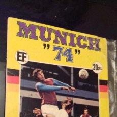 Coleccionismo deportivo: ALBUM DE FUTBOL MUNDIAL MUNICH 74 INCOMPLETO COCA COLA FHER. Lote 122143747