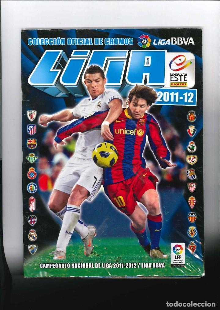 LIGA DE FUTBOL 2011 - 2012 LIGA BBV (Coleccionismo Deportivo - Álbumes y Cromos de Deportes - Álbumes de Fútbol Incompletos)