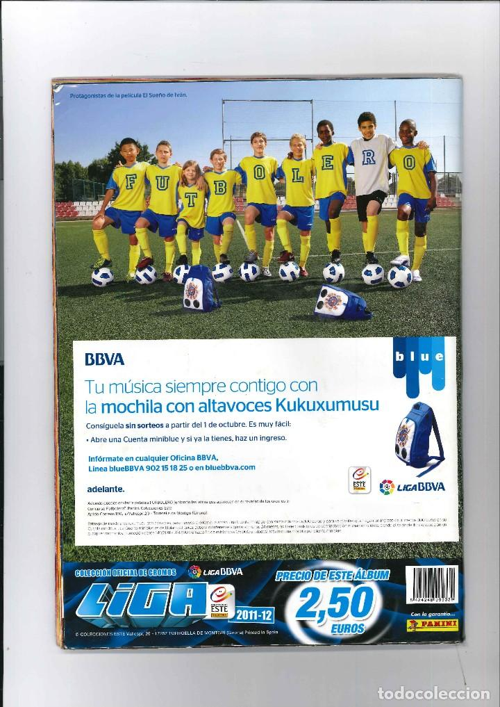 Coleccionismo deportivo: LIGA DE FUTBOL 2011 - 2012 LIGA BBV - Foto 2 - 122163099
