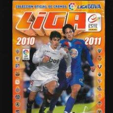 Coleccionismo deportivo: LIGA DE FUTBOL ALBUM DE CROMOS 2010 - 2011. Lote 122163531