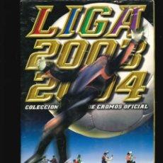 Coleccionismo deportivo: ALBUM DE CROMOS LIGA 2003 -2004 . Lote 122163719