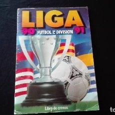 Coleccionismo deportivo: ALBUM CROMOS LIGA 90-91. Lote 122175679