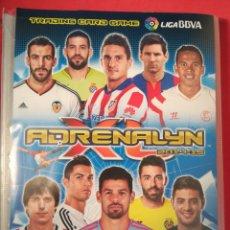 Coleccionismo deportivo: ÁLBUM ADRENALYN XL 2014-15 CON 258 CROMOS DIFERENTES. Lote 122339596