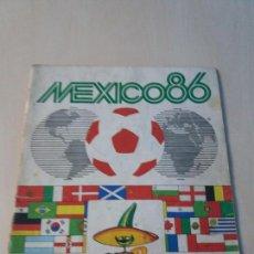 Coleccionismo deportivo: ALBUM FUTBOL PANINI MUNDIAL WORLD CUP MEXICO 86 CON POCOS CROMOS. Lote 122544419