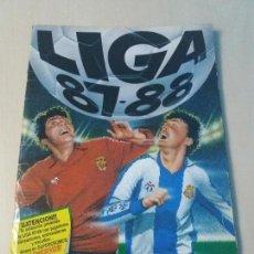 Coleccionismo deportivo: ALBUM DE CROMOS LIGA ESTE 87 88 CON DIFICILES . 1987 1988. Lote 122562799