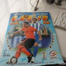 Coleccionismo deportivo: ALBUM LIGA 10 . Lote 122606079