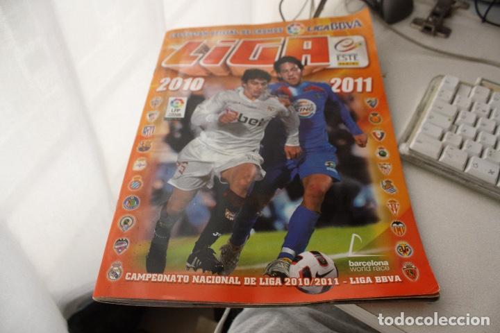 LIGA 2011 (Coleccionismo Deportivo - Álbumes y Cromos de Deportes - Álbumes de Fútbol Incompletos)