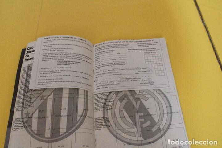 ALBUM - LIGA FUTBOL 91-92 DE BIMBO - CONTIENE CROMOS SIN PEGAR - INCOMPLETO
