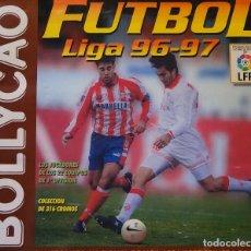 Coleccionismo deportivo: ÁLBUM DE CROMOS DE FÚTBOL. CONTIENE 306 CROMOS. LIGA 96 97 1996 1997. BOLLYCAO. MUY COMPLETO. 200 GR. Lote 122827195