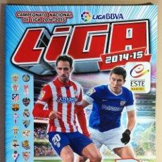 Coleccionismo deportivo: ALBUM VACIO PLANCHA SIN CROMOS LIGA 2014 2015 14 15 ESTE PANINI LALIGA BBVA. Lote 128483371
