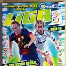 Coleccionismo deportivo: ALBUM VACIO PLANCHA SIN CROMOS LIGA 2013 2014 13 14 ESTE PANINI LALIGA BBVA. Lote 128483419