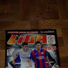 Coleccionismo deportivo: ÁLBUM CROMOS FÚTBOL LIGA BBVA 2015/16 . Lote 123050099