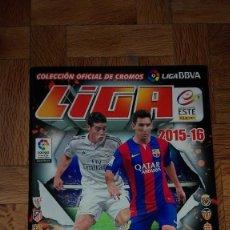Coleccionismo deportivo: ÁLBUM CROMOS FÚTBOL LIGA BBVA 2015/16. VACÍO. Lote 123050431