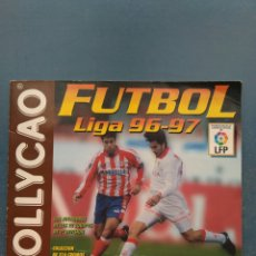 Coleccionismo deportivo: ALBUM CROMOS BOLLYCAO FUTBOL LIGA 96-97. 192 CROMOS. Lote 123767504