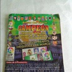 Coleccionismo deportivo: ALBUM DEL CHICLE CAMPEON LFP LIGA 96 97 1996 1997 ( CONTIENE 219 CROMOS ). Lote 124005191