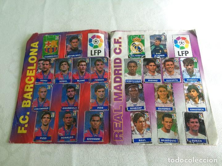 Coleccionismo deportivo: ALBUM DEL CHICLE CAMPEON LFP LIGA 96 97 1996 1997 ( CONTIENE 219 CROMOS ) - Foto 2 - 124005191
