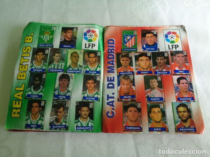 Coleccionismo deportivo: ALBUM DEL CHICLE CAMPEON LFP LIGA 96 97 1996 1997 ( CONTIENE 219 CROMOS ) - Foto 3 - 124005191