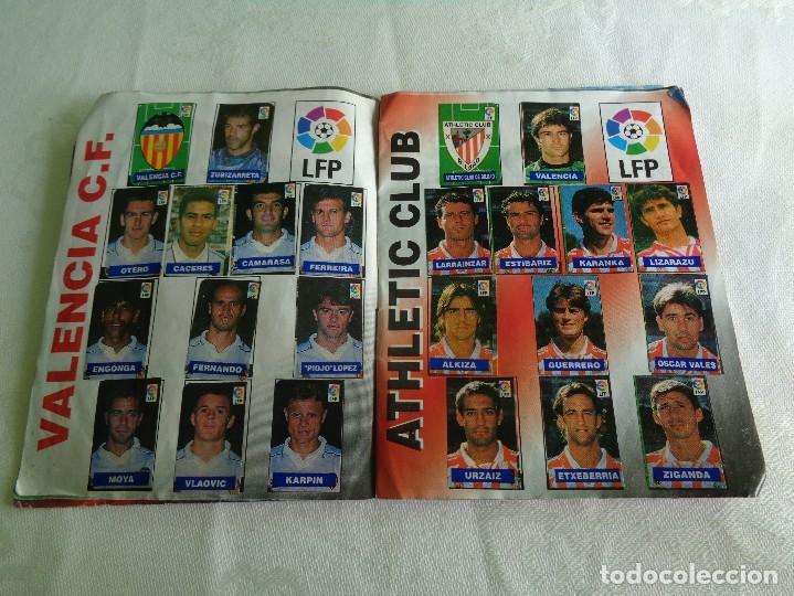 Coleccionismo deportivo: ALBUM DEL CHICLE CAMPEON LFP LIGA 96 97 1996 1997 ( CONTIENE 219 CROMOS ) - Foto 4 - 124005191