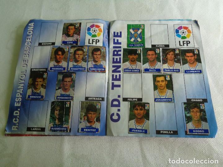 Coleccionismo deportivo: ALBUM DEL CHICLE CAMPEON LFP LIGA 96 97 1996 1997 ( CONTIENE 219 CROMOS ) - Foto 5 - 124005191