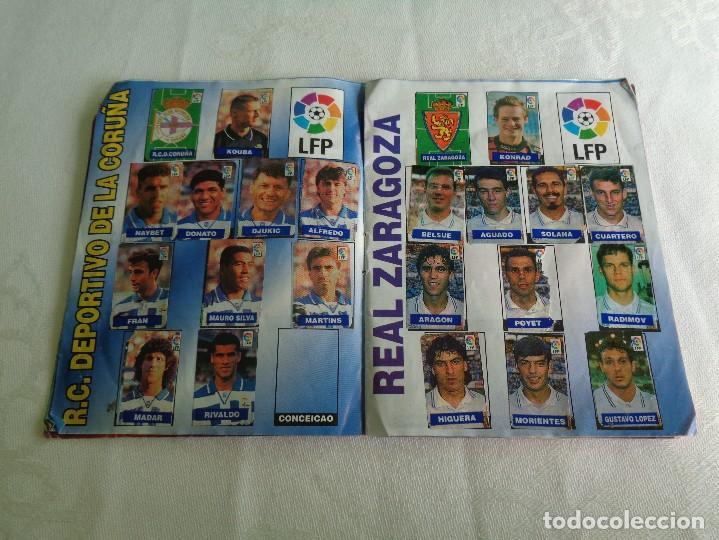 Coleccionismo deportivo: ALBUM DEL CHICLE CAMPEON LFP LIGA 96 97 1996 1997 ( CONTIENE 219 CROMOS ) - Foto 6 - 124005191