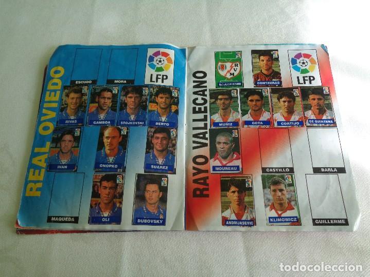 Coleccionismo deportivo: ALBUM DEL CHICLE CAMPEON LFP LIGA 96 97 1996 1997 ( CONTIENE 219 CROMOS ) - Foto 8 - 124005191