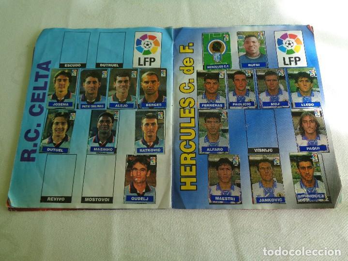 Coleccionismo deportivo: ALBUM DEL CHICLE CAMPEON LFP LIGA 96 97 1996 1997 ( CONTIENE 219 CROMOS ) - Foto 9 - 124005191