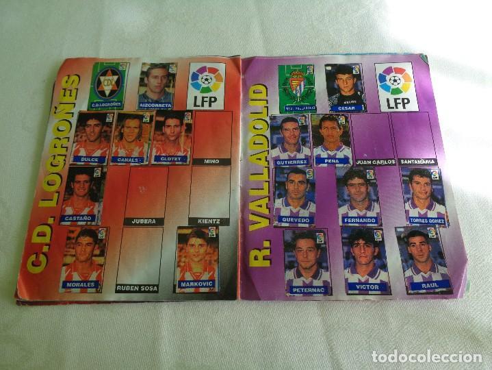 Coleccionismo deportivo: ALBUM DEL CHICLE CAMPEON LFP LIGA 96 97 1996 1997 ( CONTIENE 219 CROMOS ) - Foto 10 - 124005191