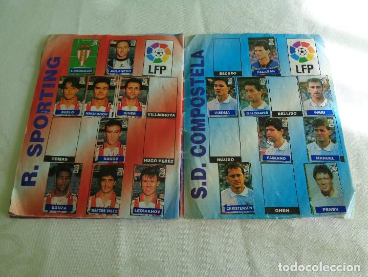 Coleccionismo deportivo: ALBUM DEL CHICLE CAMPEON LFP LIGA 96 97 1996 1997 ( CONTIENE 219 CROMOS ) - Foto 12 - 124005191