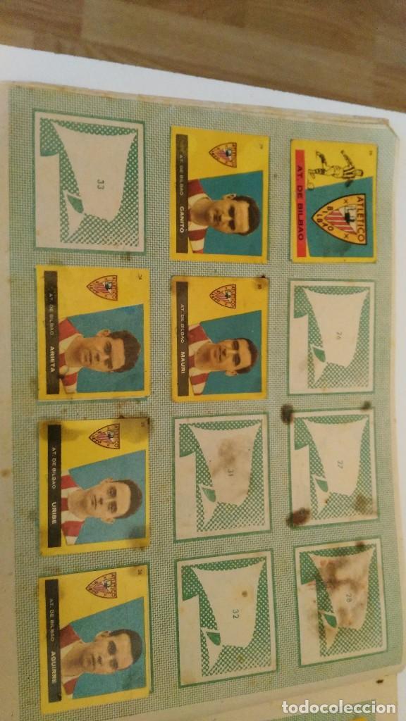 Coleccionismo deportivo: ALBUM CAMPEONES LAS MAS FAMOSAS FIGURAS DEL FUTBOL ESPAÑOL 1960 , EDT BRUGUERA 1959- faltan 56 - Foto 5 - 124049451