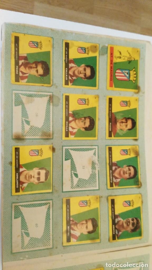 Coleccionismo deportivo: ALBUM CAMPEONES LAS MAS FAMOSAS FIGURAS DEL FUTBOL ESPAÑOL 1960 , EDT BRUGUERA 1959- faltan 56 - Foto 7 - 124049451