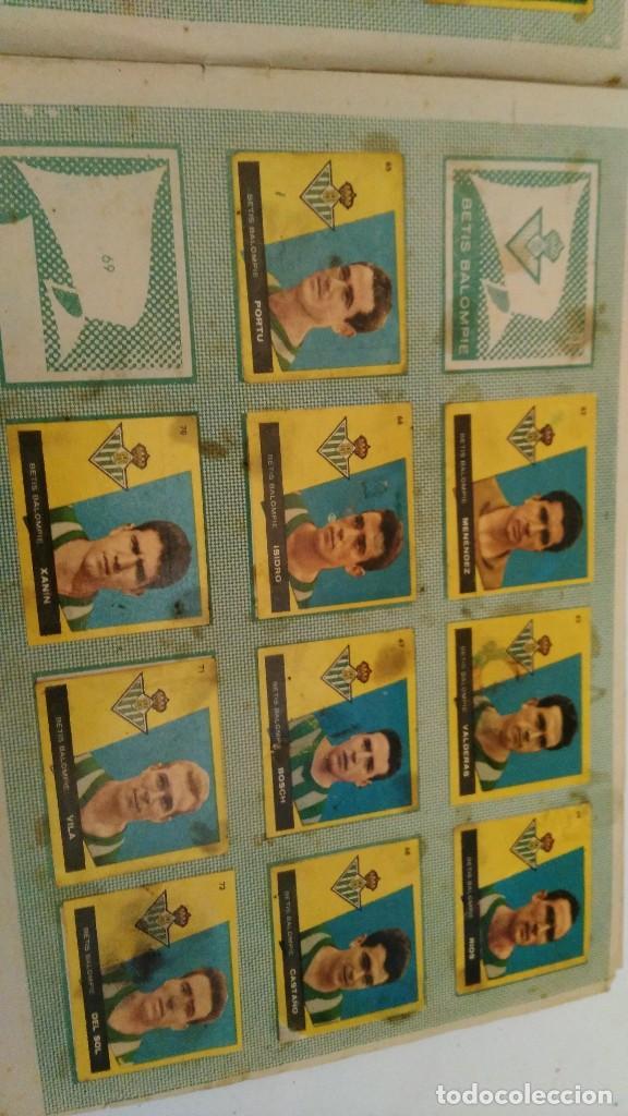 Coleccionismo deportivo: ALBUM CAMPEONES LAS MAS FAMOSAS FIGURAS DEL FUTBOL ESPAÑOL 1960 , EDT BRUGUERA 1959- faltan 56 - Foto 8 - 124049451