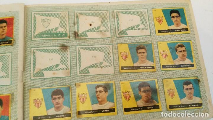 Coleccionismo deportivo: ALBUM CAMPEONES LAS MAS FAMOSAS FIGURAS DEL FUTBOL ESPAÑOL 1960 , EDT BRUGUERA 1959- faltan 56 - Foto 14 - 124049451