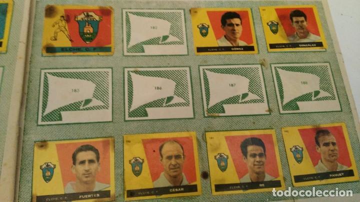 Coleccionismo deportivo: ALBUM CAMPEONES LAS MAS FAMOSAS FIGURAS DEL FUTBOL ESPAÑOL 1960 , EDT BRUGUERA 1959- faltan 56 - Foto 18 - 124049451