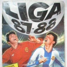 Coleccionismo deportivo: ÁLBUM INCOMPLETO 416 CROMOS PEDRAZA COLLIN ADISON FÚTBOL LIGA ESTE 87/88 1987/1988. Lote 124329275