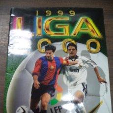 Coleccionismo deportivo: ALBUM INCOMPLETO. LIGA 1999- 2000. EDICIONES ESTE. FALTAN 60 CROMOS Y 28 ULTIMOS FICHAJES.34 X 25 CM. Lote 124591767