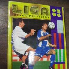 Coleccionismo deportivo: ALBUM INCOMPLETO. LIGA 1995 - 1996. FALTAN 59 CROMOS Y 22 ULTIMOS FICHAJES. COLECCIONES ESTE.. Lote 124597495