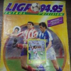 Coleccionismo deportivo: ALBUM INCOMPLETO. LIGA 94- 95. FALTAN 1 CROMO Y 8 FICHAJES. DOBLES Y COLOCA. EDICIONES ESTE.. Lote 124610331